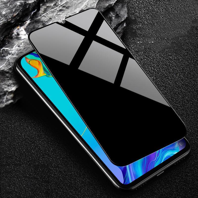 Privacidade vidro temperado Anti-Spy Peeping Para Huawei P30 P20 Pro Companheiro 30 20 Pro protetor de tela de proteção Film Para Honra V30 Pro Nova 5 6