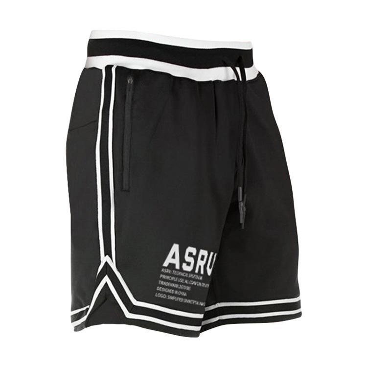 Erkek Eğitim ASRV Fitness Hızlı Pantolon Kısa Çok fonksiyonlu Koşu Açık Şort Spor Gevşek Kuru Düz Yaz Kore Daqag CPJPQ