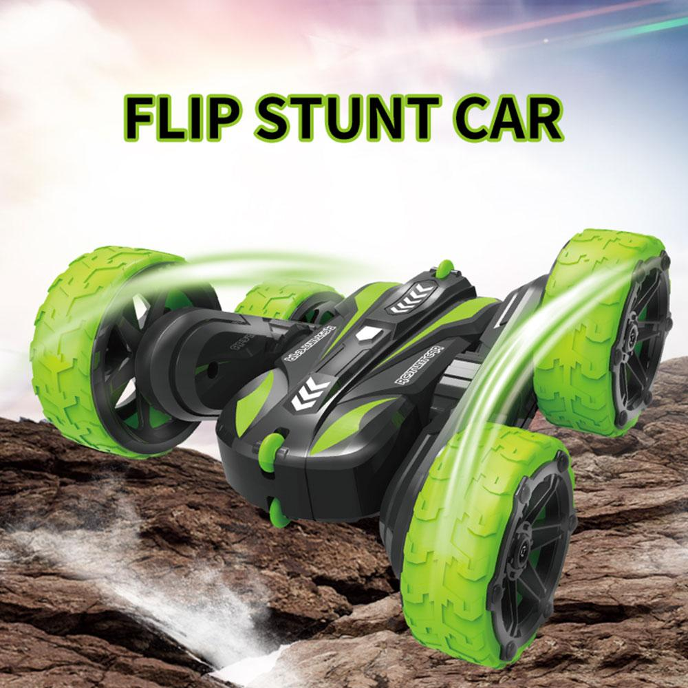 2.4G Tumbling Raupenfahrzeug 1:28 RC Stunt Car Klettern 360 Grad Flips Rotating Drift Stunt Spielzeug Fernbedienung Auto