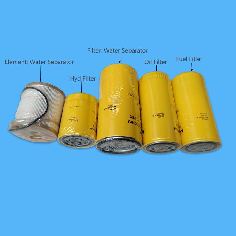 Сервис Комплект фильтров Гидрофильтр водоотделитель масло Топливные фильтры VOE11110683 17457469 20805349 2446U141S2 Fit EC210B EC240B EC290B