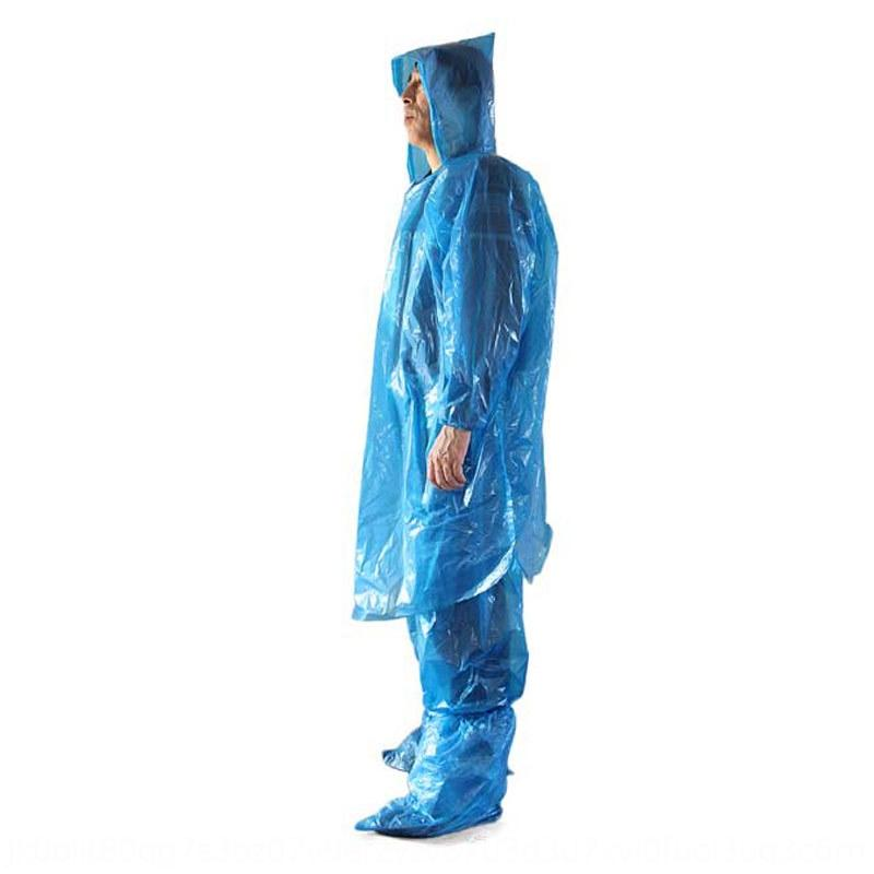 pantaloni rP04j adulti all'aperto hEKXO pantaloni tuta impermeabile pioggia spaccatura delle donne usa e getta più adatto alle passeggiate trekking uomini set di viaggio ispessito ex bambini