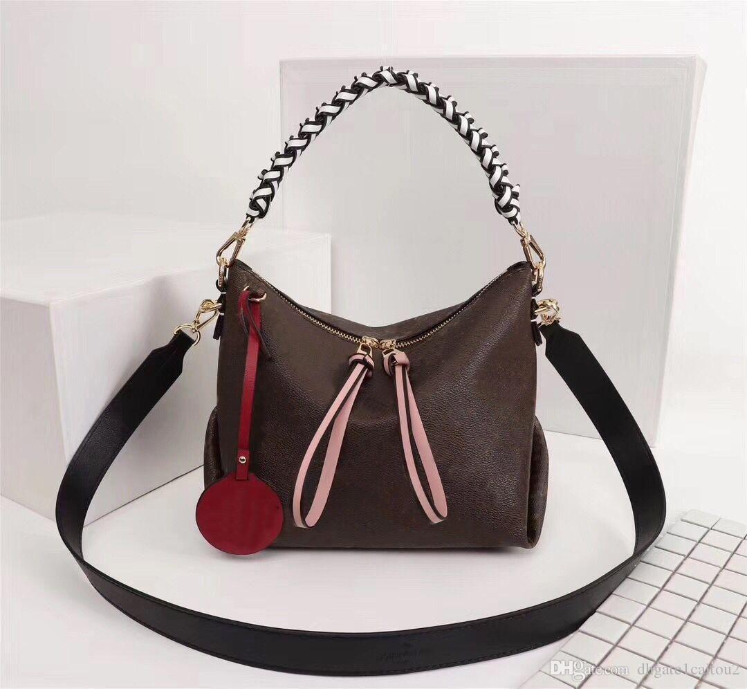 Borse a tracolla Borse Purses Beaubourg Hobo Bag MINI Donne Marca Tote Fiore tessitura vera pelle dal design di lusso di alta qualità originale IJW