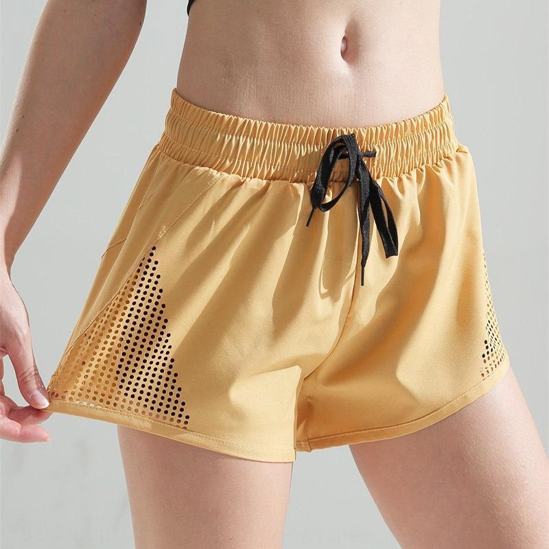 Новые анти-воздействие спортивных женщин свободной тонких йог фитнес брюки быстросохнущие обучение йога штаны и шорты работают шорты летом
