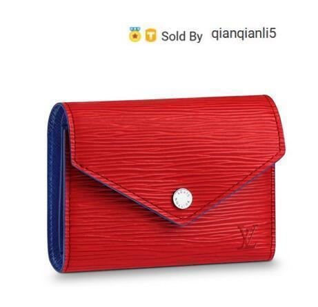 qianqianli5 VQN7 WALLET M62312 NEW WOMEN FASHION SHOWS EXOTIC LEATHER BAGS ICONIC BAGS CLUTCHES EVENING CHAIN WALLETS PURSE