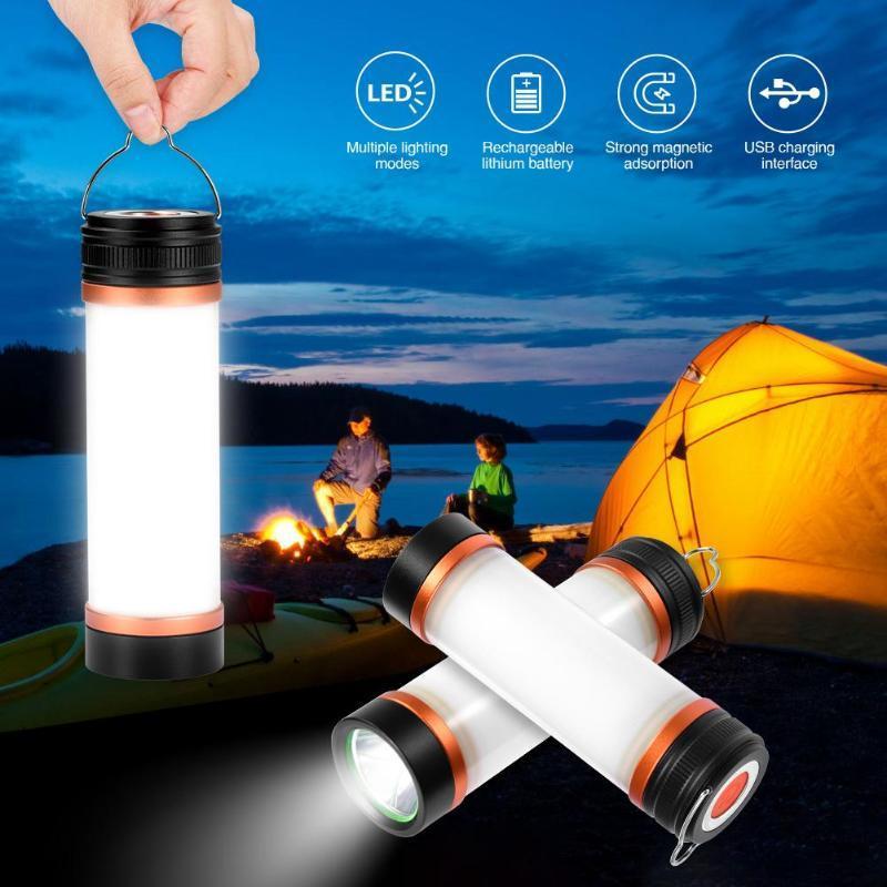 SMD2835 LED Кемпинг светодиодные лампы USB Powered кемпинга фонарь IP67 водонепроницаемый свет Survival Kit для чрезвычайных ситуаций