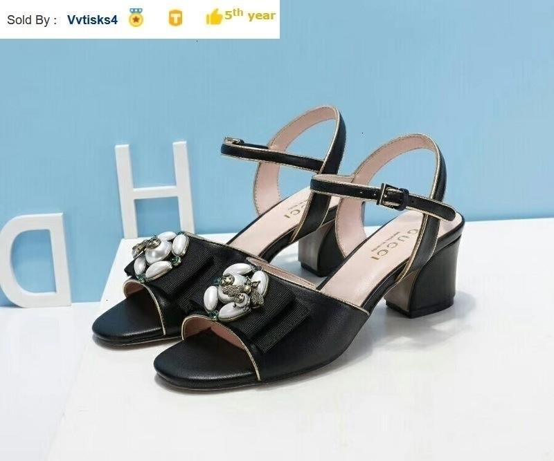 Summer ladies black high heel sandals Casual Handmade Walking Tennis Sandals Slippers Mules Slides Thongs