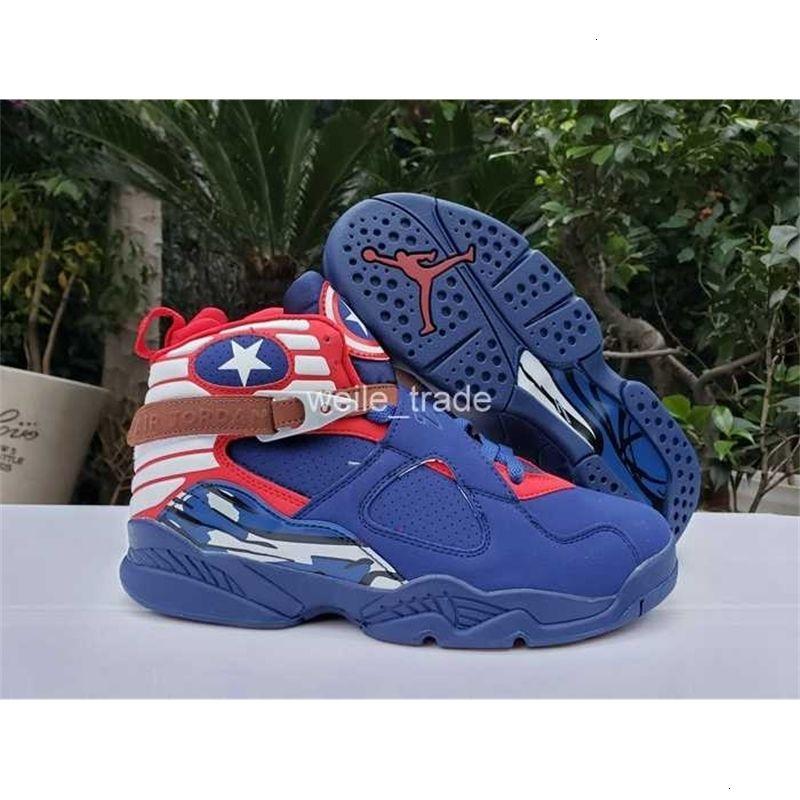 8 Basketball Jumpman Chaussures Hommes 2020 Doernbecher Saint-Valentin New Day formateurs gris sport bleu de l'orange de zapatillas Zapatos off