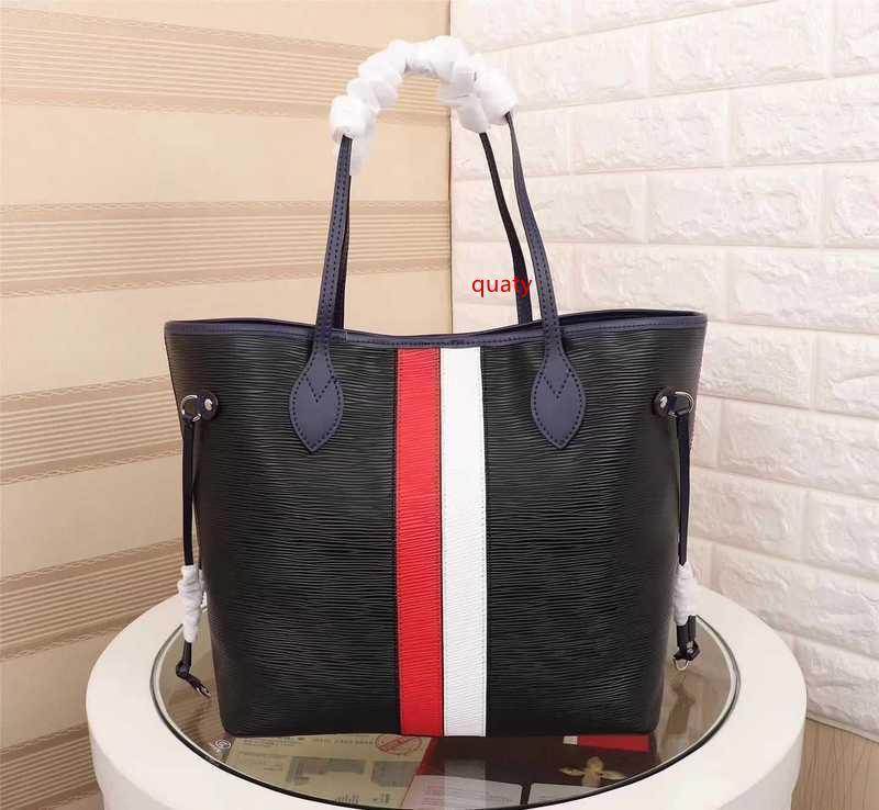2020 M53762 Yeni Kadın Moda Siyah Alışveriş Çantası Çanta Omuz Çantaları Hobo Çantalar Üst Boston Çapraz Vücut Messenger Omuz Çantaları Kolları