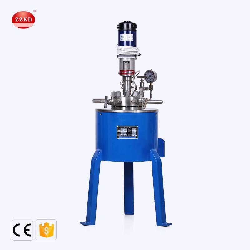 ZZKD Laboratório fácil de operar pequeno CJF-1L alta pressão de aço inoxidável Reactor Multi-purpose agitação magnética Reação Chaleira
