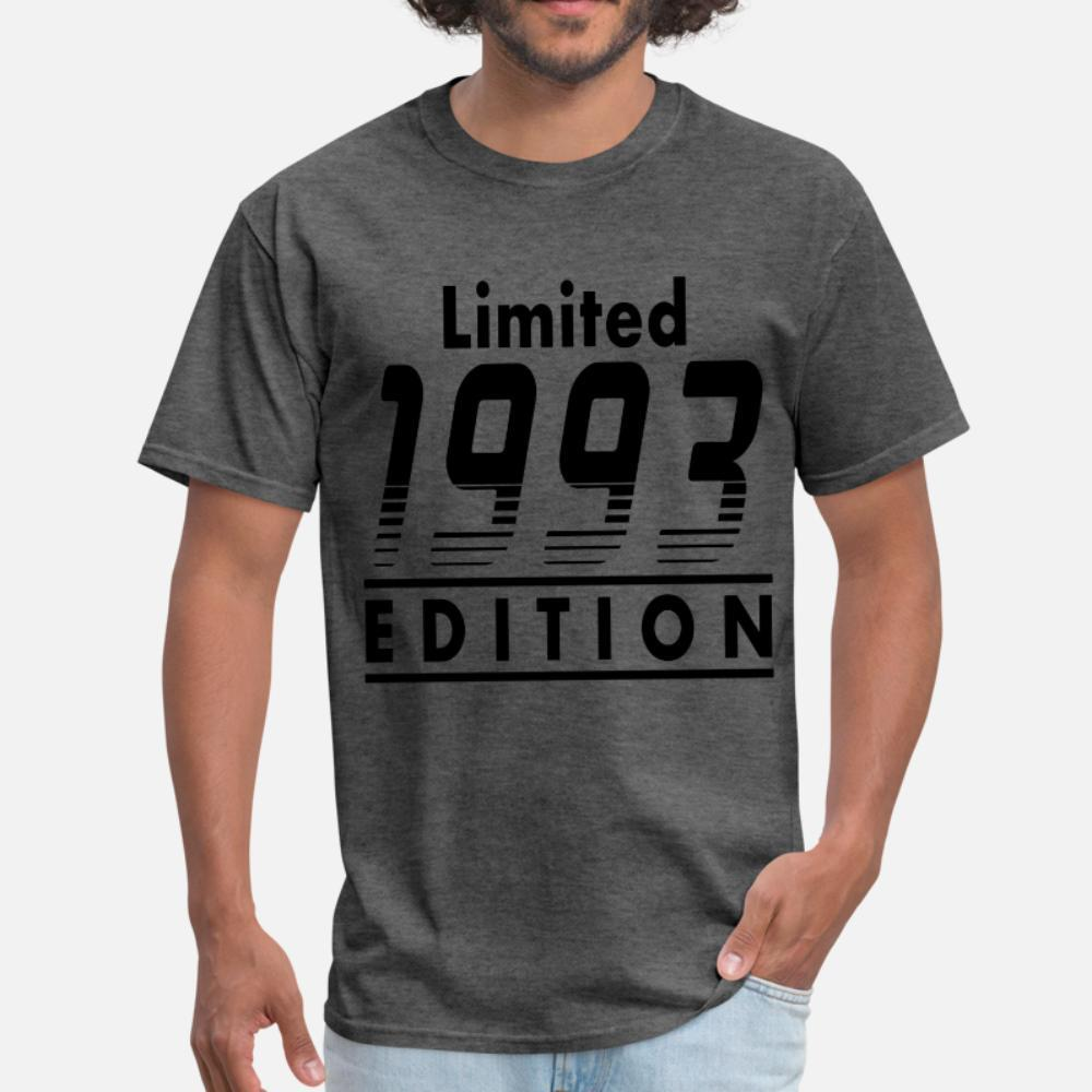 1993 1.png t shirt homme Impression shirt S-XXXL refroidissent Anti-rides de base d'été de style famille t-shirt