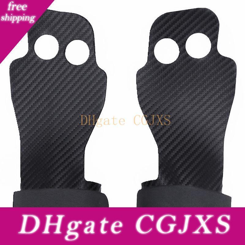 Luvas de fitness Não -Slip 2 furos aperto Proteção Fitness Formação apoio para o punho Gym Kettlebell