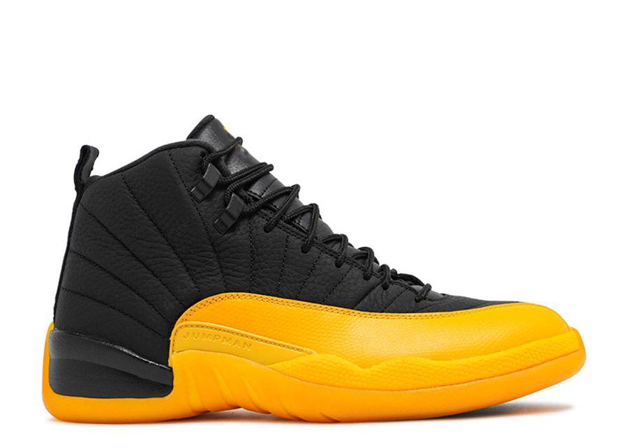 Box 2020 Erkek ve Bayan Basketbol Ayakkabı Kadınlar Black Gold Spor Ayakkabı Boyut US4Y-7Y için Üniversite Altın ile