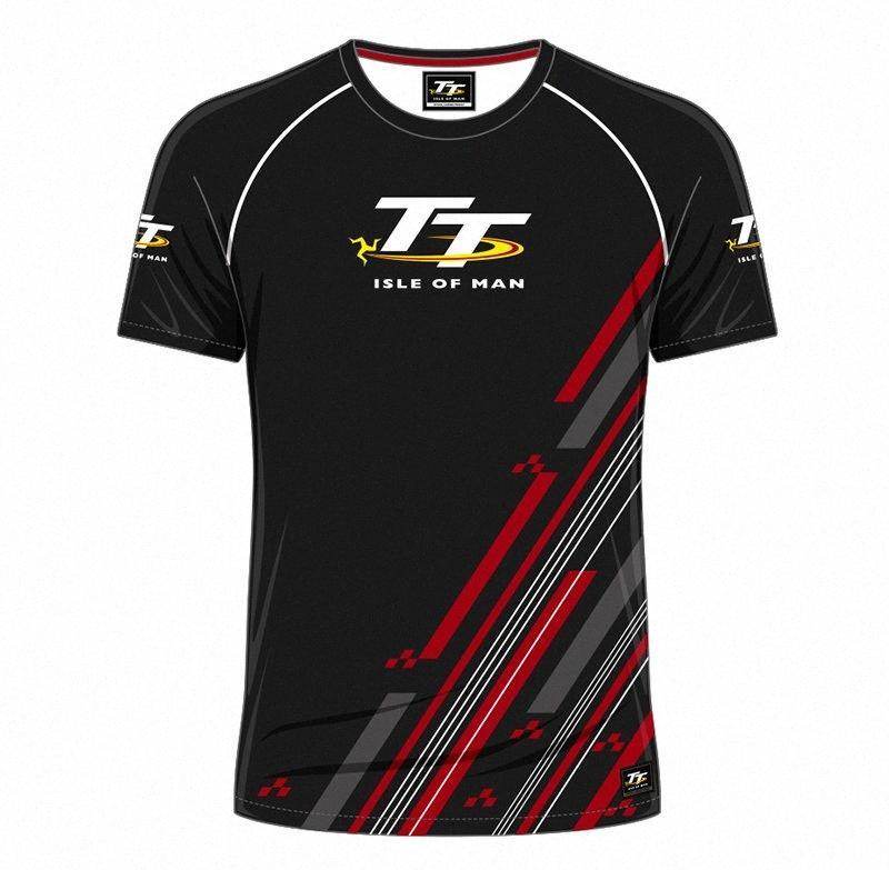 Envío libre de Moto GP ISLA DE MAN camiseta del equipo de Velocidad de desgaste de carreras Off-Road MX ATV NXx1 rápido #