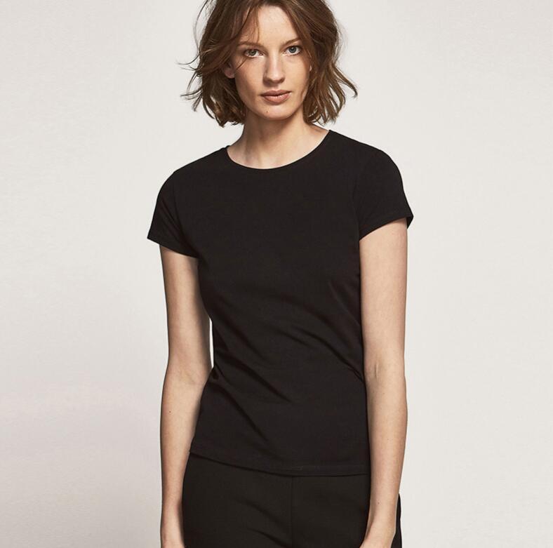 2019 Carta del diseñador mujeres de la camiseta de manga corta impresa mujer T para las camisetas de las camisas ocasionales de las mujeres de los hombres de verano