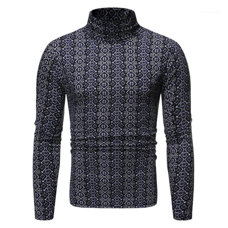 T-shirt à manches longues Fashion Slim T Designer Hommes Respirant Hauts pour hommes Vêtements pour hommes Imprimer Luxe