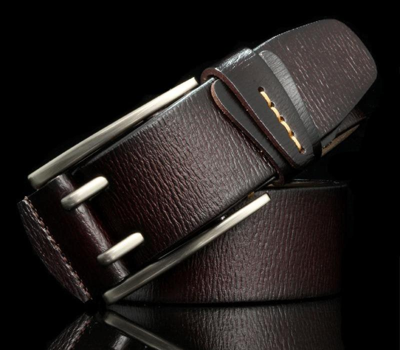 HREECOW Vintage style pin buckle cow genuine leather belts for men high quality mens jeans belt cinturones hombre T200511