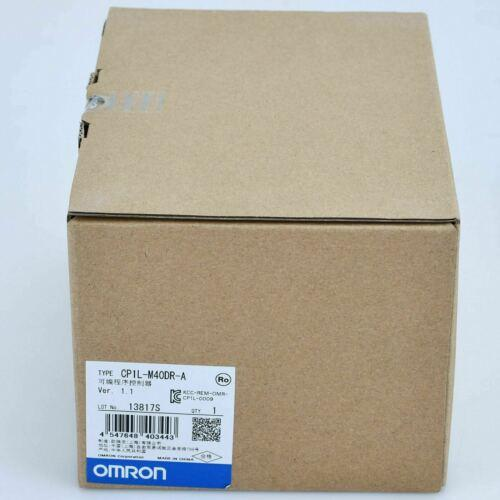 New In Box Omron CP1L-M40DR-A CP1LM40DRA PLC MODULE 1 year warranty #XR