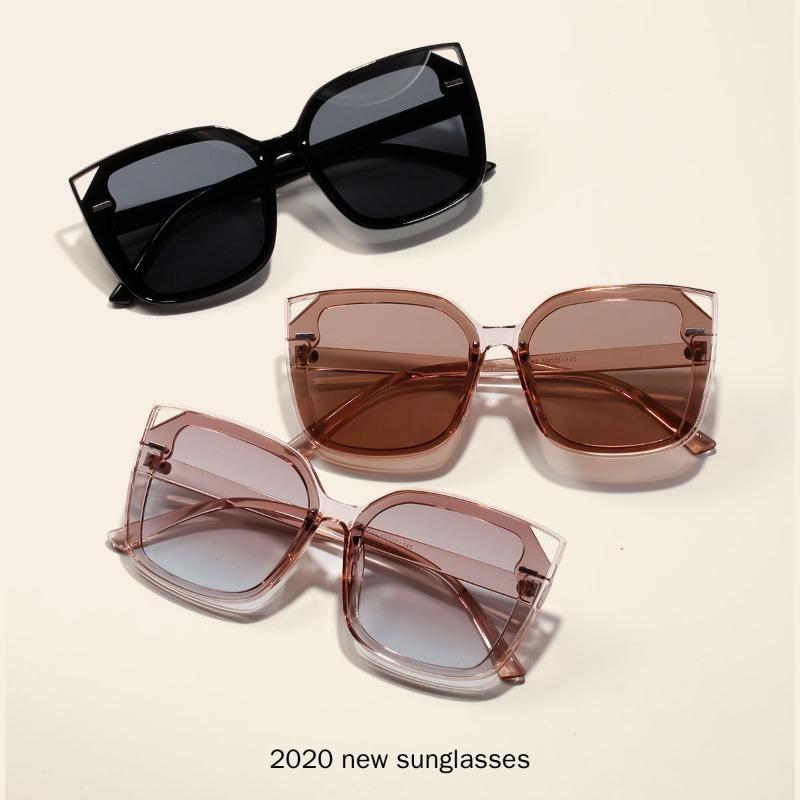 Солнцезащитные очки 2021 старинные моды роскошные кошка женщины хрусталь коричневый Blakck кадр бренда дизайнер солнцезащитные очки для женщин NX