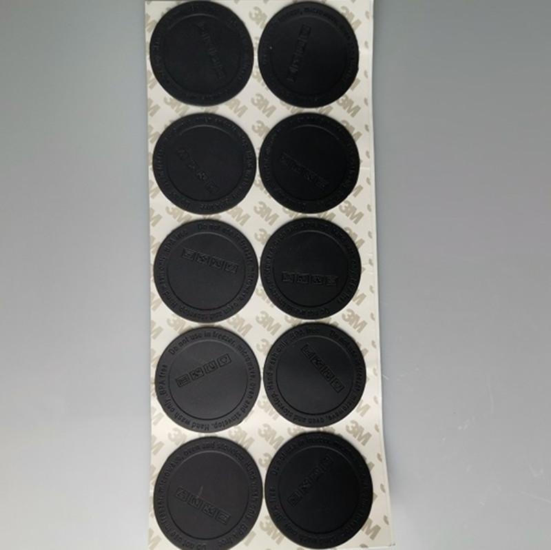 Gummi-Klebstoffboden für 15 uch 20oz 30oz dünn tumbler Bodenaufkleber Tumbler-Untersetzer Schwarzer Bodenabdeckung Cap Cup-Matte-Matte-Untersetzer
