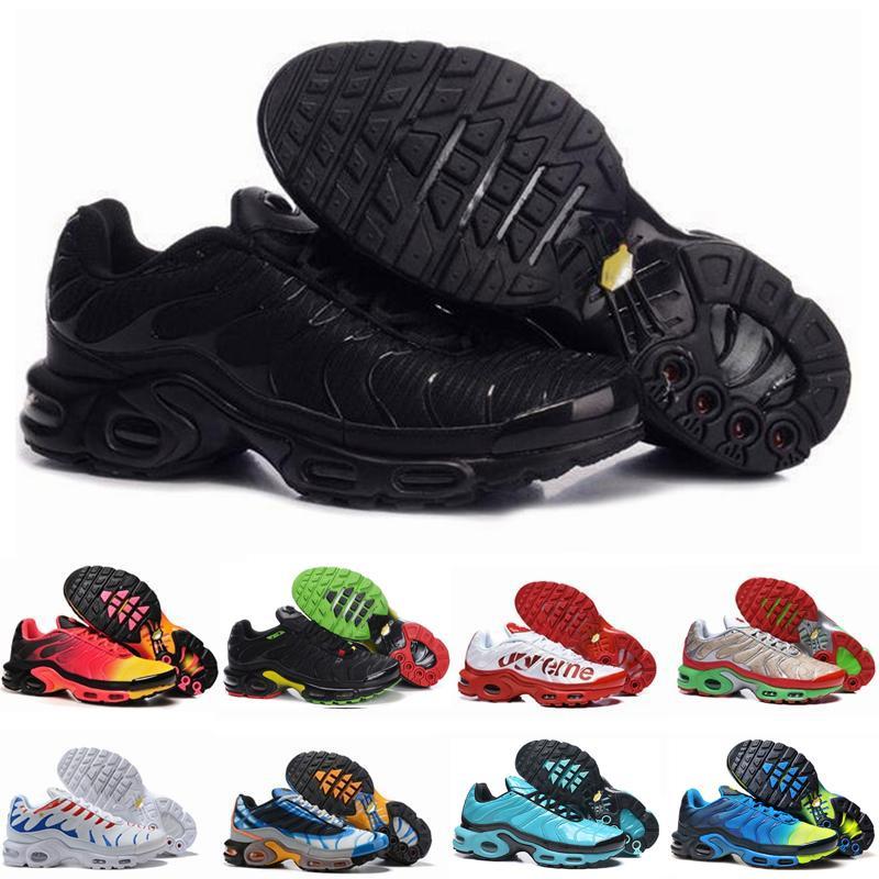 2020 Новые туфли Новые модельера Мужские кроссовки ТНС дышащая сетка Tn Плюс Chaussures ReQuiN Спортивные тренажеры Обувь