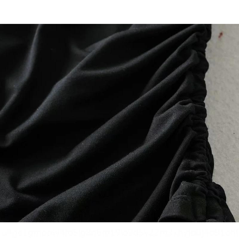 Hohe Taille Hüfte Heben Spitzen-up Tunnelzug Sommer der Frauen Hip-Abdeckung Rock mit Sicherheit Sicherheitshosen anti-Exposition Hosenrock XC1xA