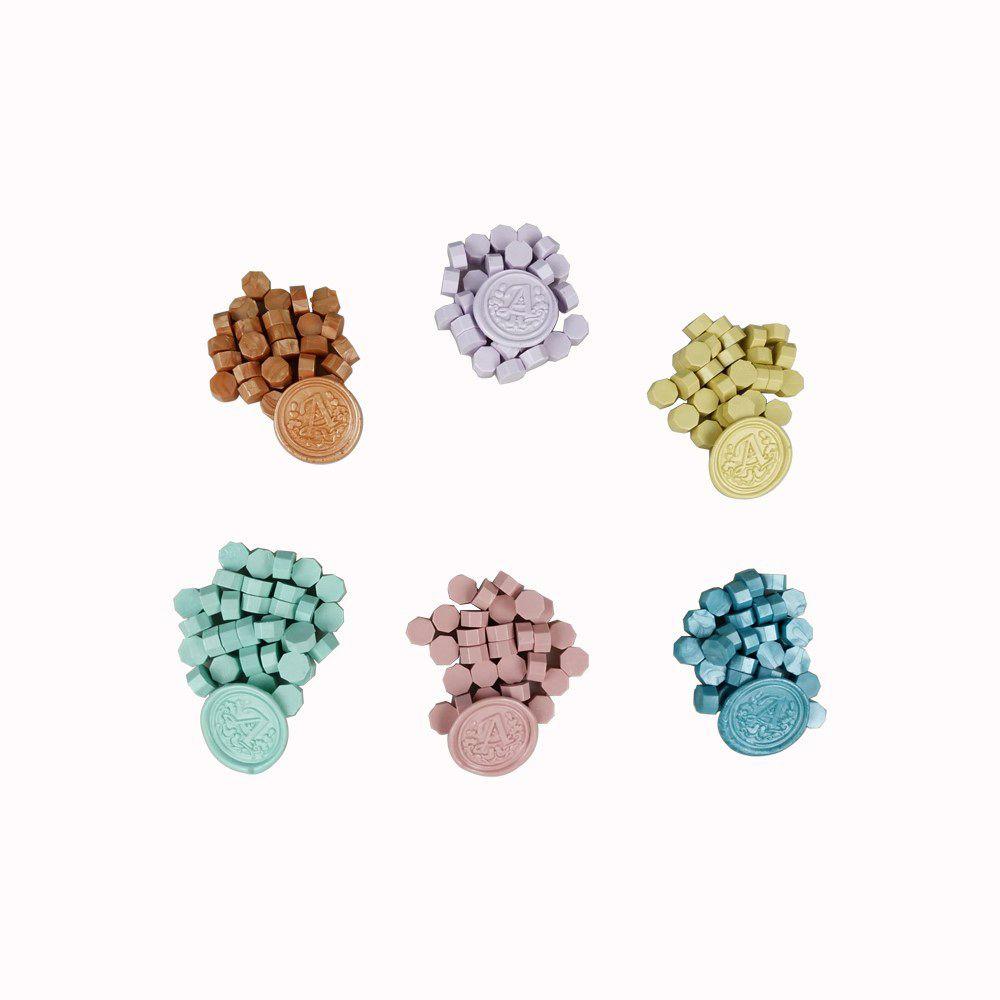 Farbige Dichtwachs-Perlen für Stempelwachs-Siegel 78 Farben