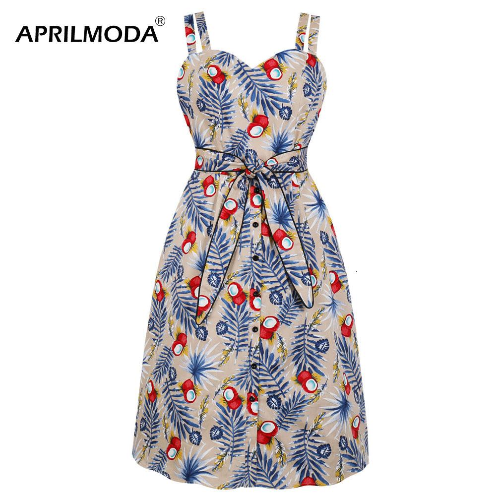 50s Floral Wrap Dr Spaghetti Strap Sexy Summer Beach Party Retro Vintage Pencil Dres with Belt Work to Wear Midi Sundr