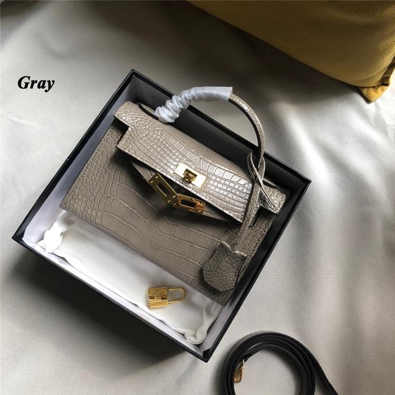 2020 Designer Luxus-Handtaschen Geldbörsen-Taschenkupplungsschulterbeutel der neuen Ankunft 5 Farbwahl diagonaler Taschen Hems klassische Tasche women5f4d #