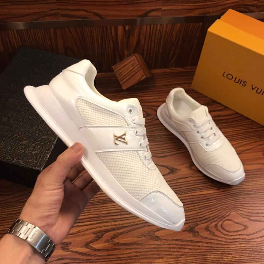 2021T edición limitada cuero de los hombres '; S Moda Zapatos Casual bajo para ayudar a las zapatillas de deporte, un juego completo de zapato original de la caja 38 -45