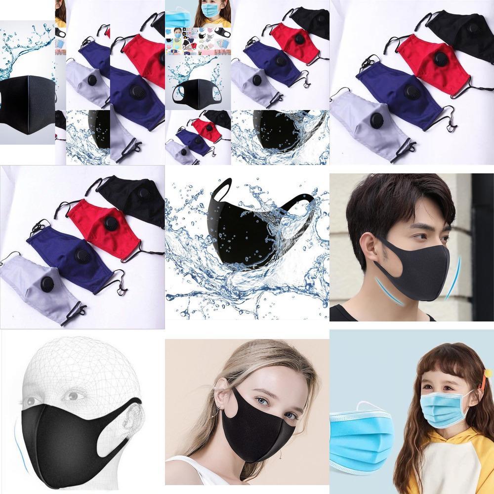 вдыхая пористое лицо с маской полиуретанового клапаном Anti-Dust задымление моющегося Реус PG0Z 66CT1