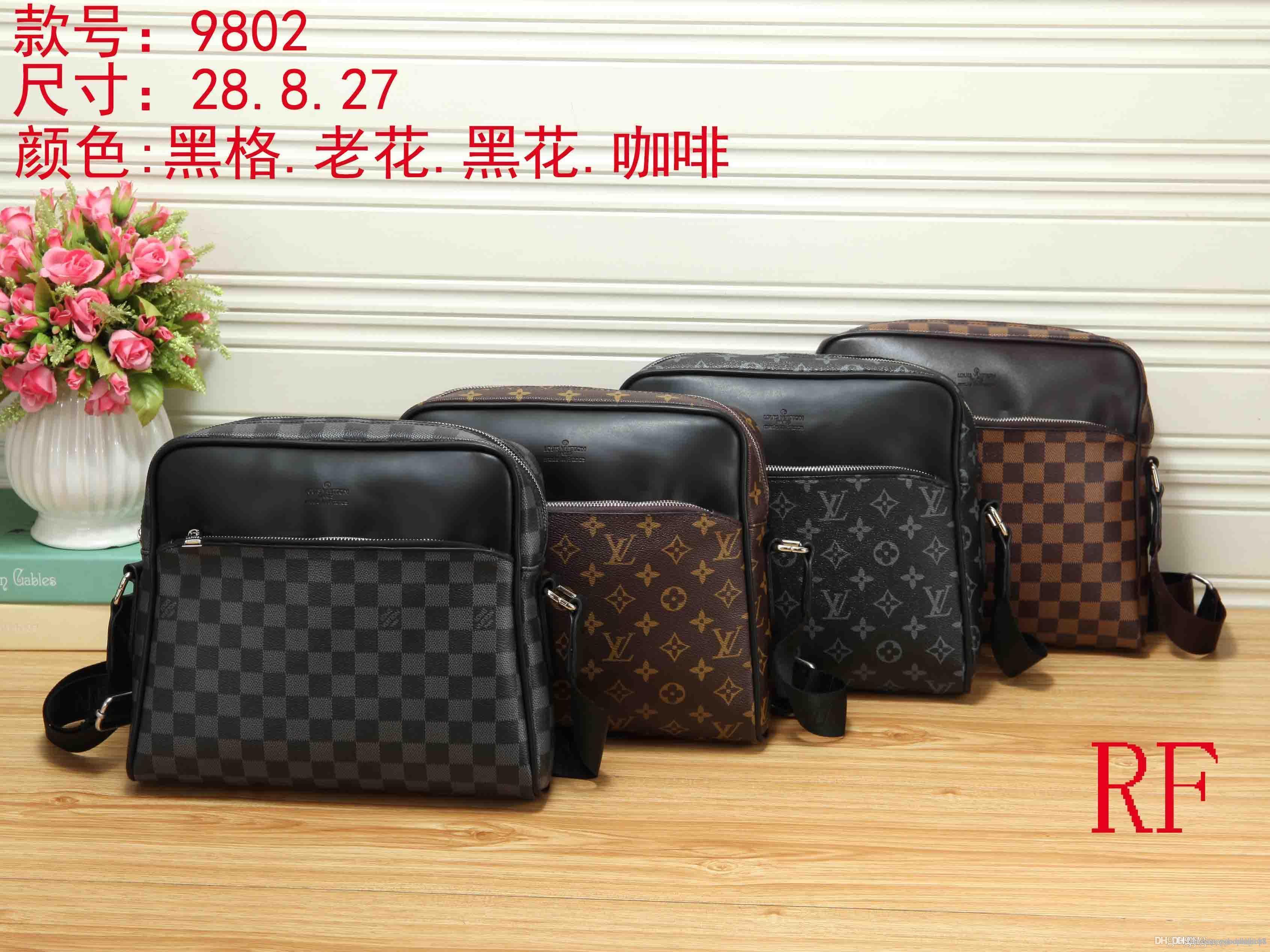LL 9802 NOUVEAUX Mode Sacs à main pour dames sacs femmes sac fourre-tout sac à dos sac à bandoulière unique sac BVFG