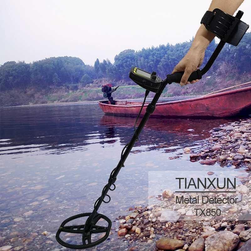 Tianxun TX-850 Professional Underground Глубина металлоискатель Высокая чувствительность Gold Treasure Детектор Stud Finder
