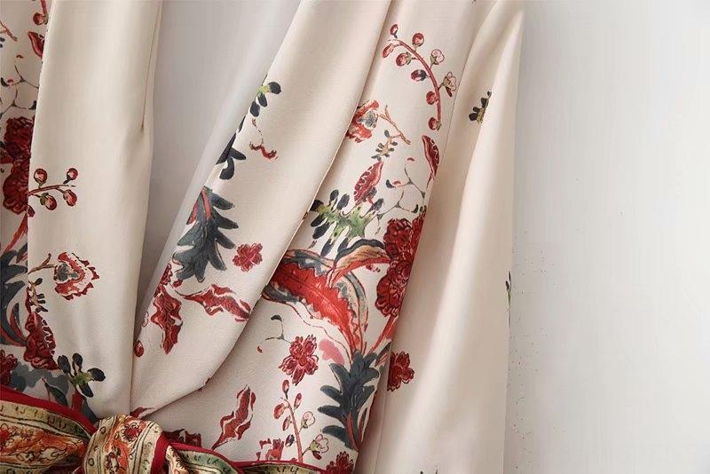 Jf368 Ktl7X Rüzgar ilkbahar yaz bayan kemer yeni kemer A8US12906-28 gündelik baskılı takım Rüzgar ceket ilkbahar yaz kadın giyim yeni giyim baskılı c