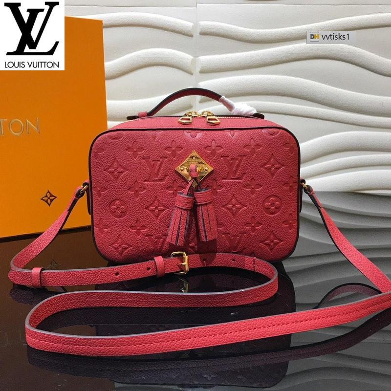 vvtisks1 6TS7 Red M44606 (7FAB) Women HANDBAGS ICONIC BAGS TOP HANDLES SHOULDER BAGS TOTES CROSS BODY BAG CLUTCHES EVENING