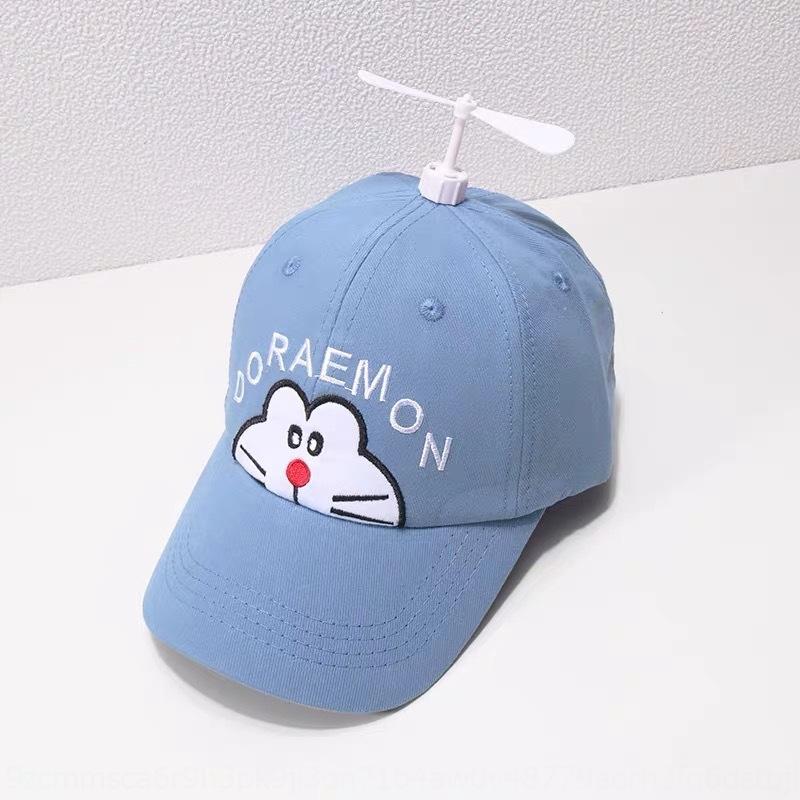 2020 Baseball bebê novo boné de beisebol infantil desenho animado Doraemon tampão do bebê de bambu libélula menino ao ar livre chapéu de sol AvVD8