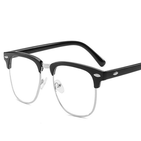 Nueva moda deportes Gafas de sol sin montura de oro Metal de oro Gafas de sol Gafas de sol Moda para mujer Leopardo Buffalo Gafas Mejor Calidad