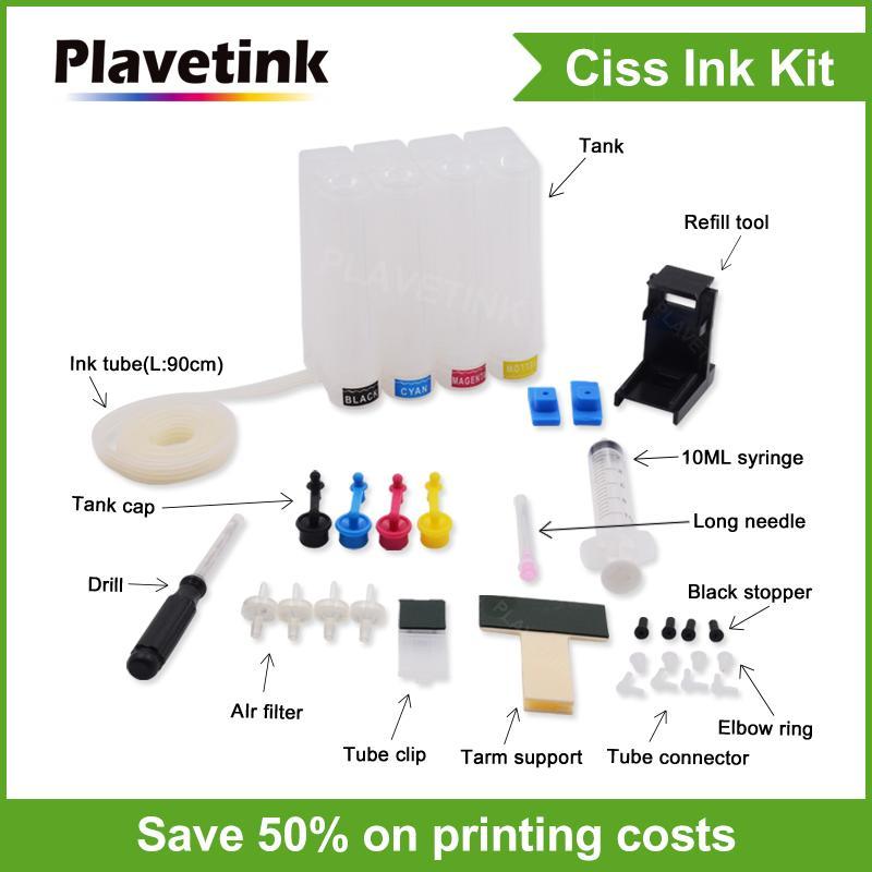 CISS Continuous sistema de tinta para Canon PG-440 CL-441 PG-445 CL-446 PG-510 CL-511 PG-512 CL-513 PG-545 CL-546 cartuchos de impressora