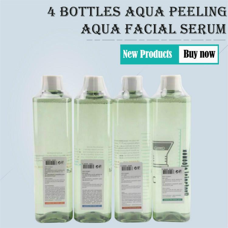2020 di alta qualità Aqua Clean Solution Aqua Peel concentrata Soluzione 4 X 500 ml per bottiglia Hydra viso pelle Siero per la normale