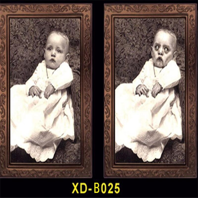wxuHJ American fra party bar haunted house stage decoration propsProps 3D Bar props and propspeople's Ghost Festival face-changing photo Hall