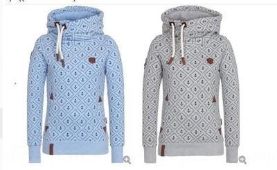 De nouvelles polaire manteau à capuchon sport lâche manches longues femmes pull imprimé manteau laine laine pour les femmes etjIL