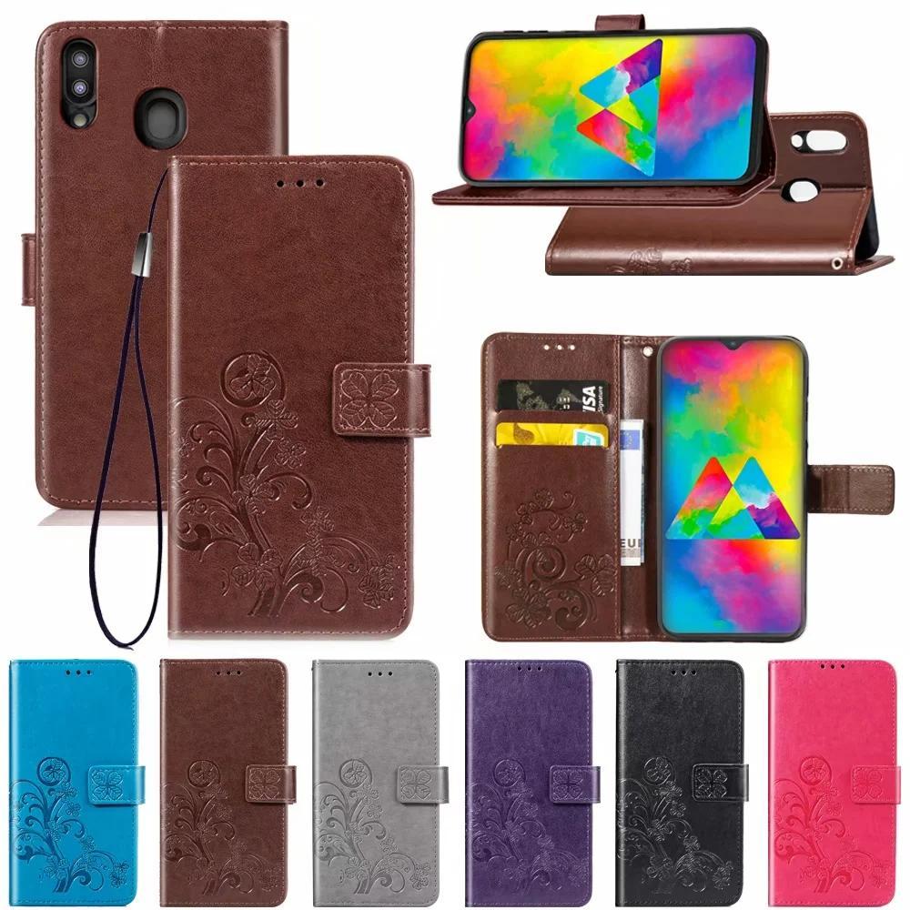 Telefono di cuoio bordo di caso per Samsung Galaxy S3 S4 S5 S6 S7 S8 S9 S10 S20 PLUS a fogli mobili del raccoglitore del supporto della carta copre per la galassia S20 caso Ultra