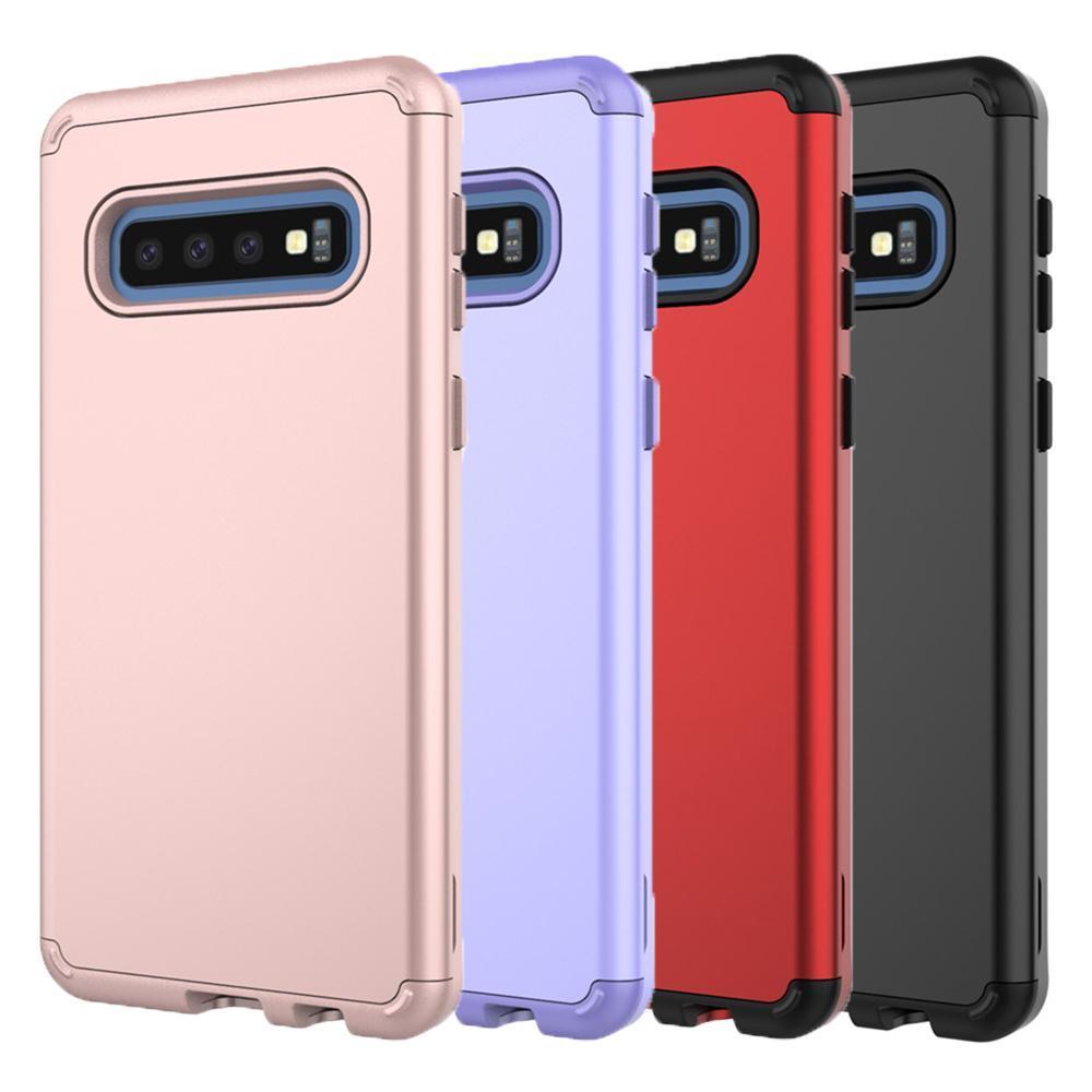 cgjxsFor Samsung Galaxy S10 Além disso Caso Armadura Heavy Duty dupla -CAMADA completa de proteção corpo capa para Samsung Galaxy S10 S10 Lite