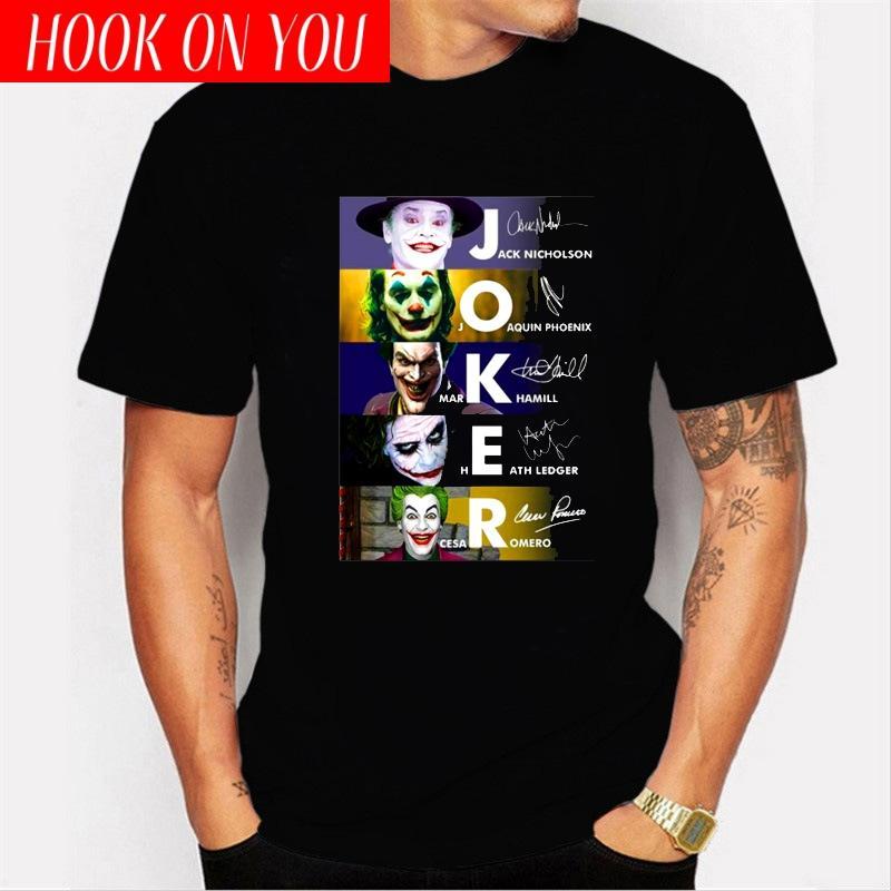 LettBao Yeni Erkekler tişörtleri Joker Joaquin Phoenix 2020 T Gömlek Filmler Inspired Jack Mark Heath Joker Tee kara cuma Tişört tee
