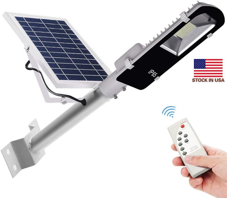 60W 90W LED Solarlampe Wand IP65 Wasserdichtes Solar-Straßenleuchte Radar Bewegungsmelder Solar-Outdoor Security Lamp + Lager Auf US