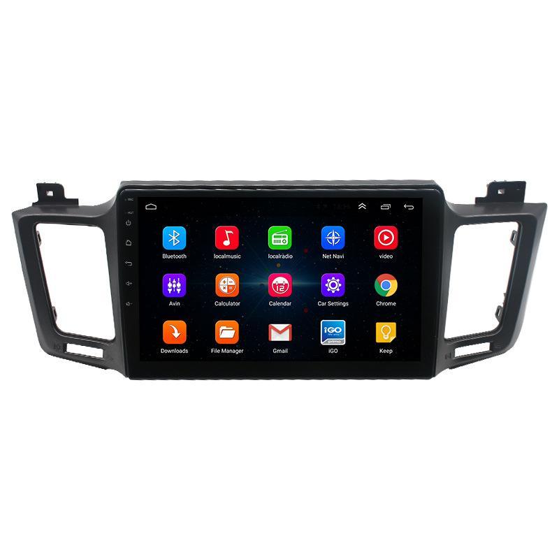 10 9 pulgadas Android Reproductor de vídeo del coche para TOYOTA RAV4 2013-2017 navegación de radio auto GPS con Bluetooth Espejo Enlace