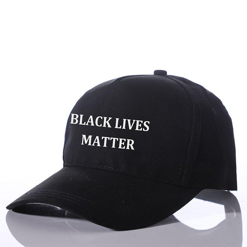 New negra vive MATTER chapéu protetor solar chapéu de basebol impressa Baseball filtro solar cap cap