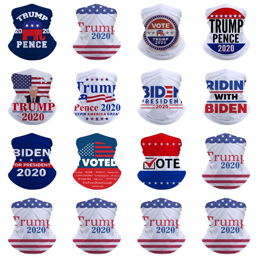 Máscaras Trump bufanda mágica Joe Biden Pañuelo para mantener a Estados Unidos Gran vendas de ciclo al aire libre Headwear Trump Máscaras de diseño CYZ2730 transporte marítimo de