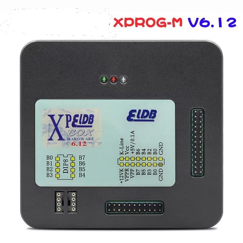 Neueste XPROG-M X Prog M Box V6.12 Auto ECU-Span-abstimmende Programmierer Xprogm Xprog6.12 mit USB-Dongle FW V5.4 XPROG