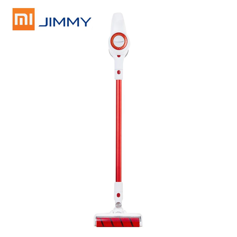 100000rpm Xiaomi Vacuum Cleaner JIMMY JV51 Handheld Wireless Strong Suction with Electric Mite Brush Wiper Floor Washers Mopping Scrubber