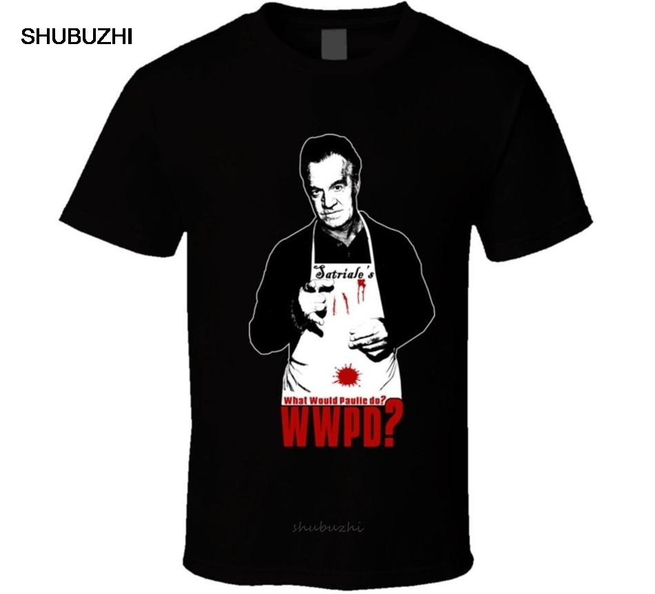 What Would Paulie Do Funny Sopranos Gangster Tv T Shirt For Youth Middle-Age The Elder Tee Shirt